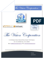 Cement Trading @ the Vision Corporation