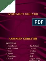 assesmen geriatri 2013 ppt