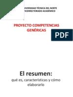 El Resumen Para Cualqueir Documento