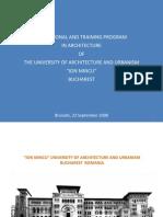UAUIM School of Architecture