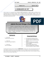 5to. Año - LIT - Guía 6 - La Generación de 1927