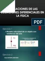 APLICACIÓN DE ECUACIONES DIFERENCIALES EN FISICA.pptx