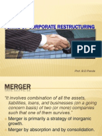 Forms of Corporate Restructuring