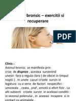 Astmul Bronsic _ Exercitii Si Recuperare