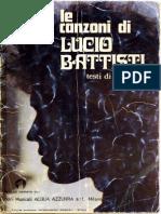 Lucio Battisti - Le Canzoni Di Lucio Battisti