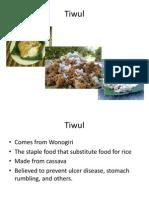 Tiwul