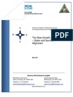 SPI Whitepaper the New Growth Engine Sales and Service Alignment
