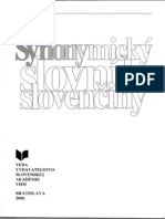 3db4b7b72 Synonymicky Slovnik Slovenciny
