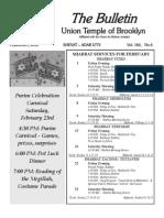 UT Bulletin February 2013