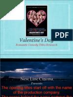 Valentine's Day Titles Analysis