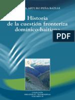 Peña Batlle Historia Cuestion Fronterizadomínico-haitiana