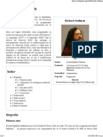 Richard Stallman - Wikipedia, La Enciclopedia Libre