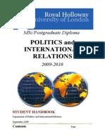 Msc_Handbook_2009-2010