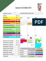 Plan de Actividades Enero 2014