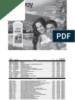 Lista Precios Diciembre 2013