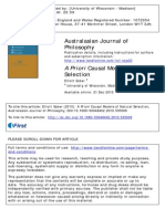 PS-2011-A Priori Causal Models of Natural Selection