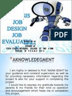 Job Evalution
