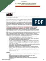 Dr R K Pachauri - CV