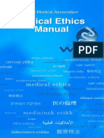 Wma Medical Ethics Manual