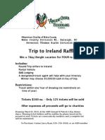 AOH IrelandRaffle_2014 Flyer