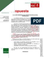 Propuesta - Solar Mercadillo - JMD Este Enero 2014