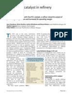 FCC Catalyst Refinery Performance