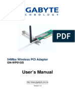 Wireless Adapter Gn-wp01gs e
