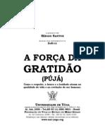 A força da gratidão Pújá