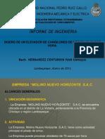 Informe Ingenieria - Exposicion