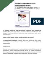 1. SIMULADO DE QUESTÕES COMENTADAS - GRUPO DE QUESTÕES