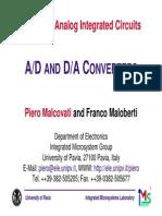 AD and DA Converters