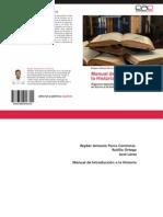 Libro Manual de Introducción a la Historia 978-3-659-01674-5 (1)