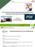 Formacion Planificadores Escuela Venezolana Planificacion