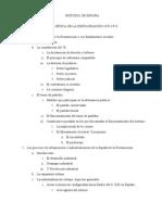 HISTORIA DE ESPAÑA. Tema 1.