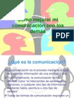 Como mejorar mi comunicación con los demás