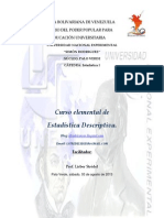 Curso de Estadistica Descriptiva