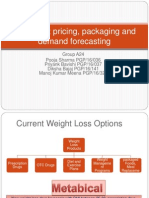 metabical case essay View homework help - metabical case study from mrkt 310 at md university college metabical: pricing, packaging, and demand forecasting 1 how does metabical compare to current weight loss.