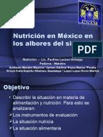 Nutricion en México en los albores del S.XXI
