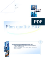 Plan qualité ERP