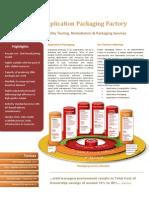 Application Packaging Factory Brochure