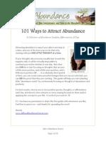 Allow Abundance Course