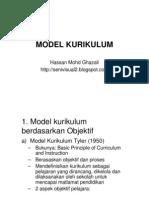 Nota Model Kurikukum