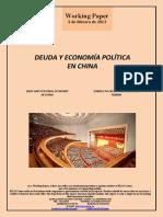 DEUDA Y ECONOMÍA POLÍTICA EN CHINA (Es) DEBT AND POLITICAL ECONOMY IN CHINA (Es) ZORRA ETA EKONOMIA POLITIKOA TXINAN (Es)