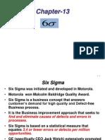 Chapter-13 Six Sigma