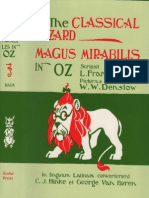 The Classical Wizard Magus Mirabilis in Oz