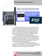 Dell Active System 800 with Dell OpenManage Power Center