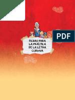 Fichas Letra Cursiva
