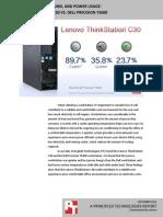 Workstation heat, sound, and power usage
