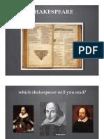 Shakespeare Lit