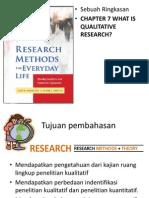 Penelitian Kualititatif